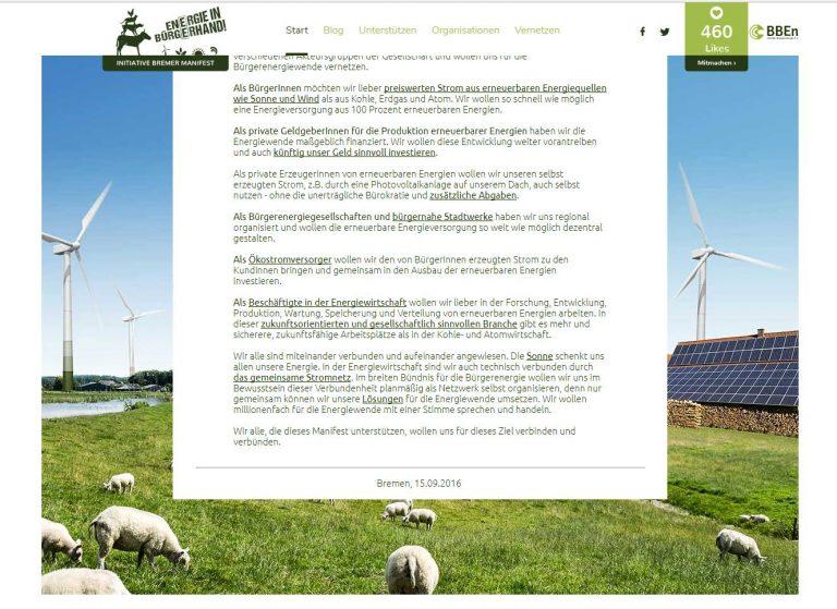Bundesvereinigung Bürgerenergie
