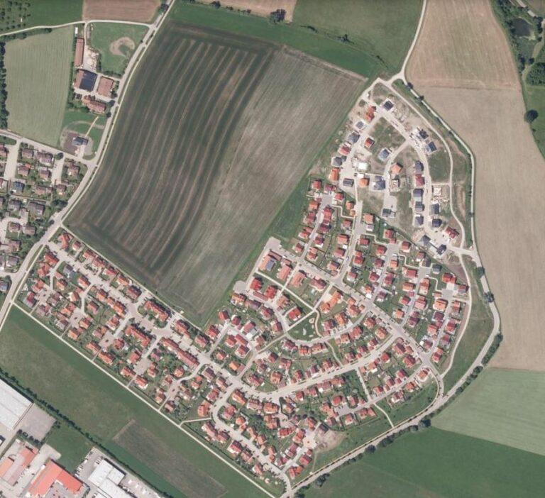Einfamilienhäuser und Flächenverbrauch